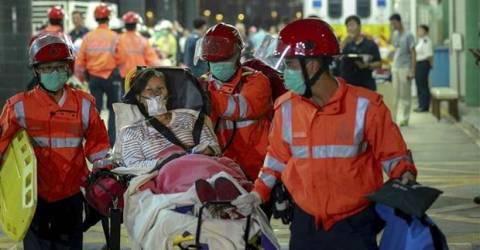Hong Kong'a Facia! 120 Yaralı
