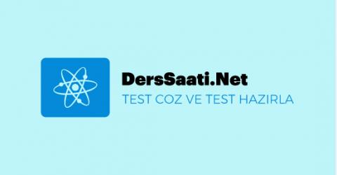 Test Hazırlıkları Ve Test Çözümleri