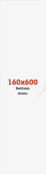 160x600 Reklam Alanı