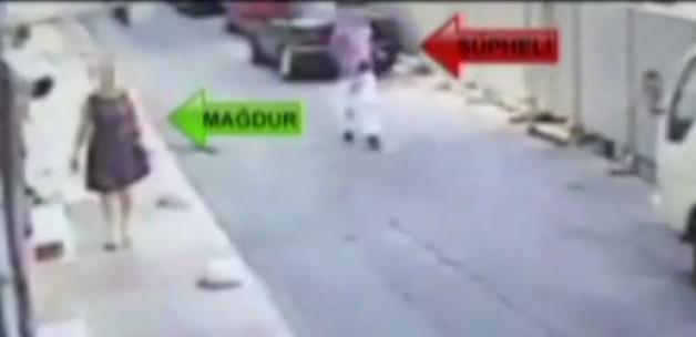 Kadını takip ederek evini soyan kişi kameralara yakalandı