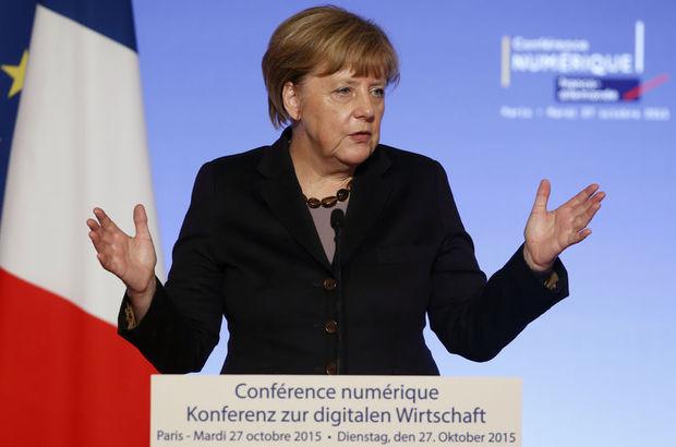 Merkel Mülteci Sorunu İçin 1 Kasım'a Dikkat Çekti