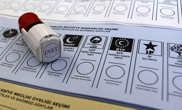1 Kasım Seçim Yasakları Açıklandı