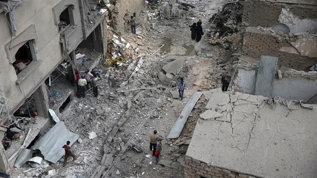 Suriye'de Pazar Yerinde Katliam! 45 Ölü