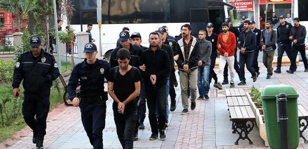Mersin'de 7 YDG-H'lı Tutuklandı