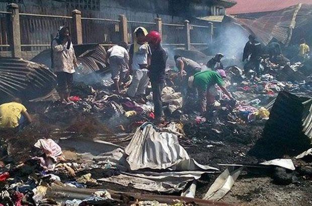 Filipinler'de yangın faciası