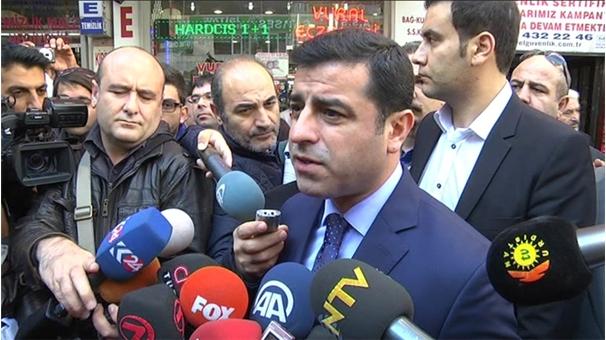 Davutoğlu'na Demirtaş'tan PYD Göndermesi