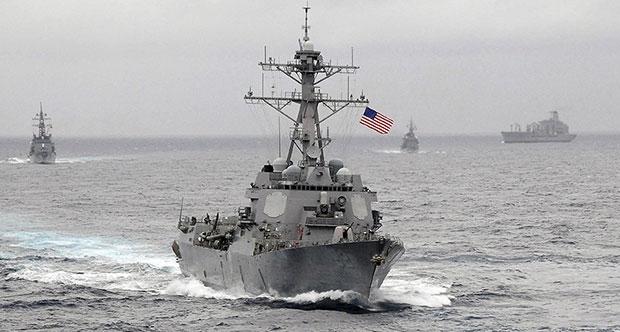 Çin Hükümet'i Savaş Gemileri İçin ABD'yi Uyardı