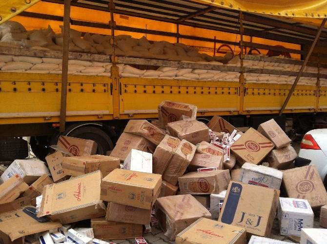 Ağrı'da 271 Bin Paket Kaçak Sigara Ele Geçirildi