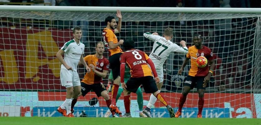 Galatasaray Bursaspor'u Farklı Yendi