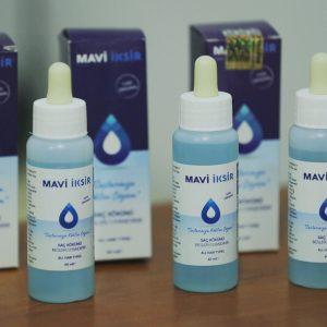 Saç Dökülmelerine Kesin Çözüm, Mucizevi Buluş : Mavi İksir