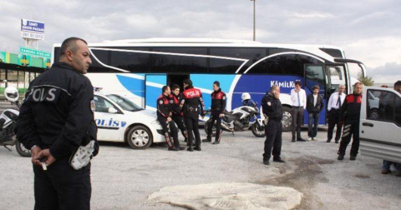 Yolcu Otobüsünde Canlı Bomba Paniği