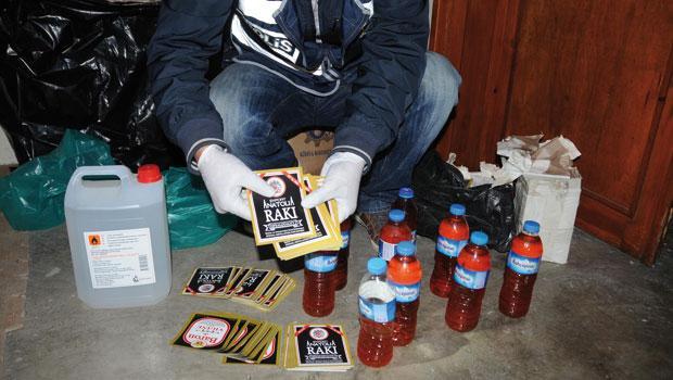 İstanbul'da Sahte İçki 9 Can Aldı