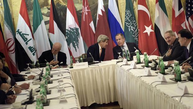 Viyana'da Suriye Toplantısı Devam Ediyor