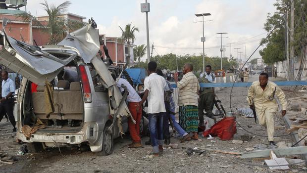 Somali'de bombalı saldırı sonucunda 11 kişi öldü